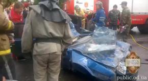 Чудовищная авария в Одессе