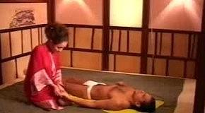 Ролик массаж гейша