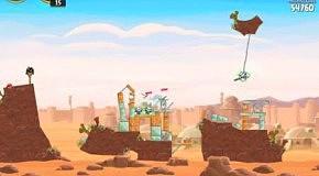 Прохождение Angry Birds: Star Wars 25 Tatooine