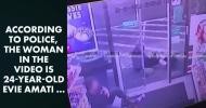 В супермаркете женщина с топором напала на покупателей
