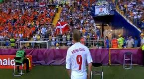 Голландия - Дания (0-1, Крон-Дели 24)