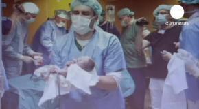 В Чехии девушка родила сразу 5 близнецов
