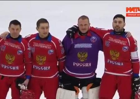 Винтернете высмеяли выполнение русского гимна