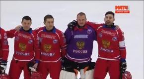Певица забыла слова гимна России на ЧМ по хоккею с мячом