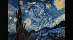 Ожившая картина Ван Гога - Звездная ночь