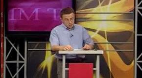 Ірина Фаріон та Юрій Михальчишин на передачі «Прямим текстом»