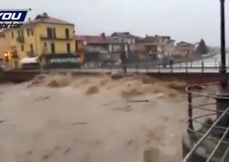 Всеверной Италии— массивные наводнения
