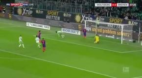 Дебютный гол Ориги за Вольфсбург