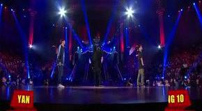 Брейк данс батл в Москве - Yan vs Hong (2011)