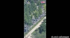 Донецк, 10 июля: передвижение военной техники по городу
