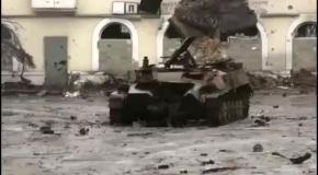 Углегорск после нескольких дней боев