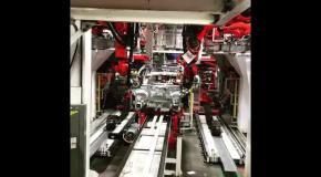 Маск показал производство Tesla Model 3