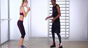 Фитнес с Victoria's Secret: упражнения для рук