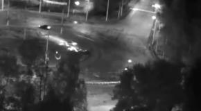 ДТП в России: автомобиль перевернулся в воздухе