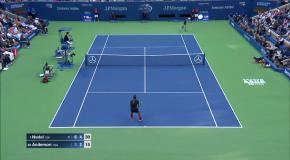 Надаль – Андерсон: лучшие моменты финала US Open 2017