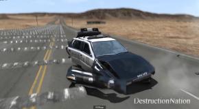 Сколько лежачих полицейских нужно, чтобы уничтожить машину