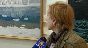 Северное сияние на макушке земли увидел петербургский художник
