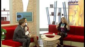 """Пародист Дмитрий Черников (Dina Love) на телеканале ЛОТ- """"Подъем"""" (Мужской день) Луганск"""