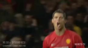Все голы Криштиану за Манчестер Юнайтед