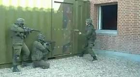 Прибалтийский спецназ в действии