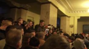 На пророссийском митинге провозгласили Харьковскую республику
