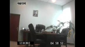 """""""Налоговый ректор"""" Мельник  """"влип"""" в секс-скандал (оперативное видео)"""