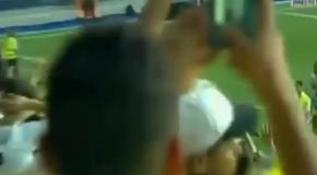 Фанат набросился на новичка Реала  во время презентации игрока