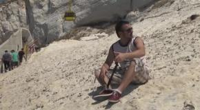 Израиль. Национальный парк Рош-а-Никра (морские гроты)