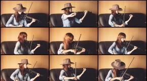 Westworld HBO - Заглавная Тема (Анастасия Соина скрипка)