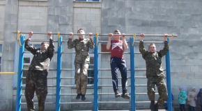 Гімназійний спецназ. Андрушівська гімназія. Володимир Повальчук