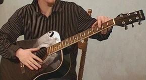 Видео-урок игры на гитаре 1