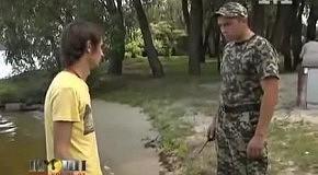 Журналисты попытались воспользоваться законным правом граждан Украины на свободный доступ к водоемам в элитной Конча-Заспе