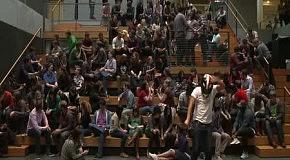 Harlem Shake от студентов в Портленде
