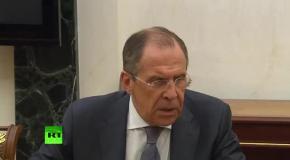 Путин сделал вид, что его рассмешили санкции США