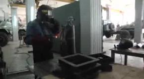 Бронированные автомобили для АТО. Татьяна Донец