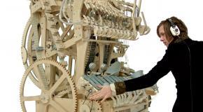 Шведский музыкант создал новую музыкальную машину