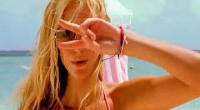 Erin Heatherton в новой рекламе купальников Victoria's Secret