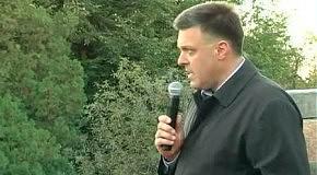Олег Тягнибок у Вінниці представив Володимира Базелюка