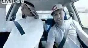 Дрифт в машине с арабом