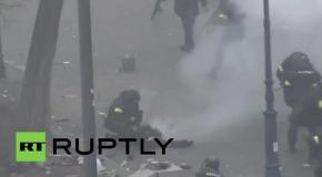 СБУ штурмует Евромйдан 20 февраля 2014 года