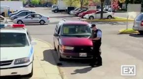 Розыгрыш с полицейским и проститутками