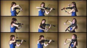 Final Fantasy XV – Exploration Battle Theme (Анастасия Соина скрипка)