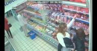 Как работают карманники в супермаркете