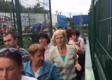 Украинка везла вПольшу сына вчемодане