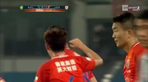 Красивый гол Пелле в матче китайской Суперлиги