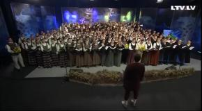 Латвийский хор великолепно исполнил гимн Украины