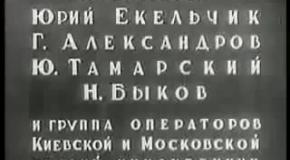 Историческая хроника  СССР  1940 г.
