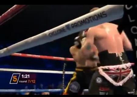 Германского боксера ввели вкому после тяжелого боя