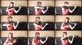 Disney's MOANA - We Know The Way (Анастасия Соина скрипка)