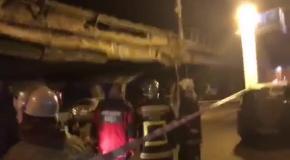 Рухнул Шулявский мост
